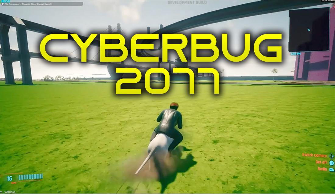 Cyberpunk 2077 z masą błędów po premierze? To zobaczcie, ile miał ich przed nią – wyciekły kompilacje absurdalnych bugów od… CD Projekt!