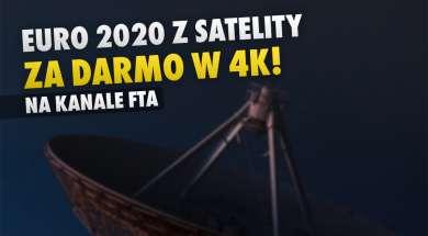 euro 2020 na kanale TRT 4K z satelity FTA okładka