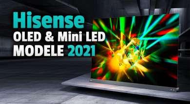hisense telewizory oled miniled 2021 modele okładka