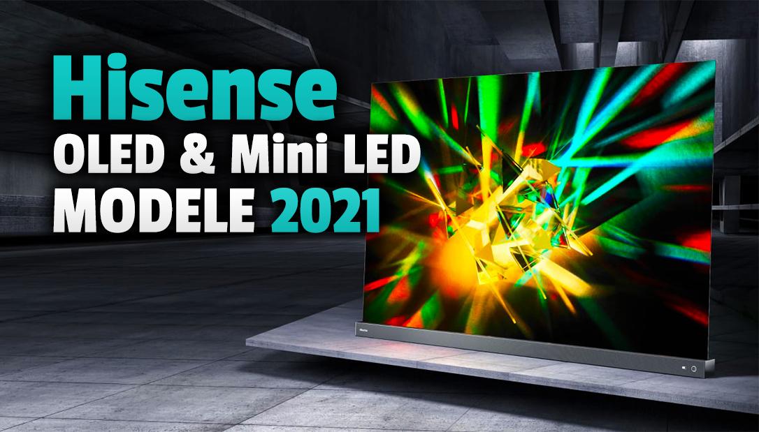 Hisense pokazał nowe, futurystyczne telewizory Mini LED i OLED! Pełne wsparcie HDR, HDMI 2.1 – kiedy premiera w Polsce, jakie ceny?
