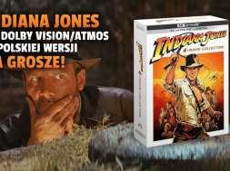 indiana jones 4 filmy kolekcja apple tv+ 4K HDR Dolby Vision Atmos polska wersja