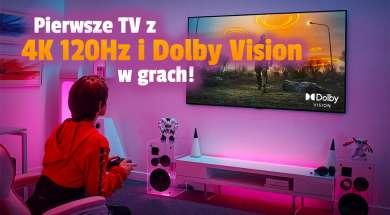 lg oled telewizory c1 g1 2021 gaming 4k120hz dolby vision hdr okładka