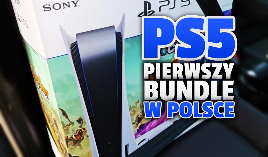 PlayStation 5 już dostępne w Polsce w oficjalnym zestawie z pierwszą grą – i to jaką! Sprawdzamy dostępność i ceny w sklepach