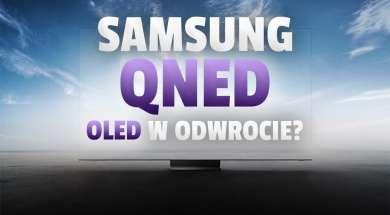samsung qned technologia telewizory okładka