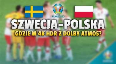 szwecja polska mecz gdzie oglądać okładka