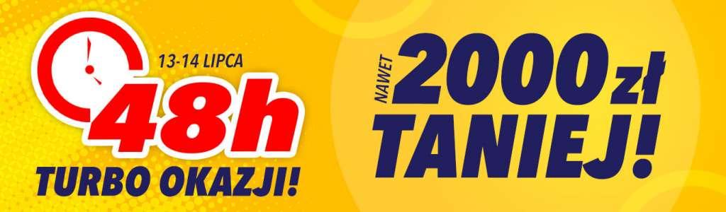 Telewizory LCD, OLED, QLED i Mini LED największych producentów do 2000 zł taniej jeszcze tylko dziś!