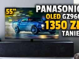 Panasonic-OLED-GZ950 55 cali promocja media expert lipiec 2021 okładka