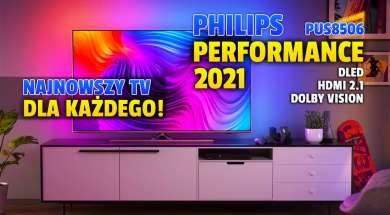 Philips PUS8506 Performance telewizor 2021 okładka