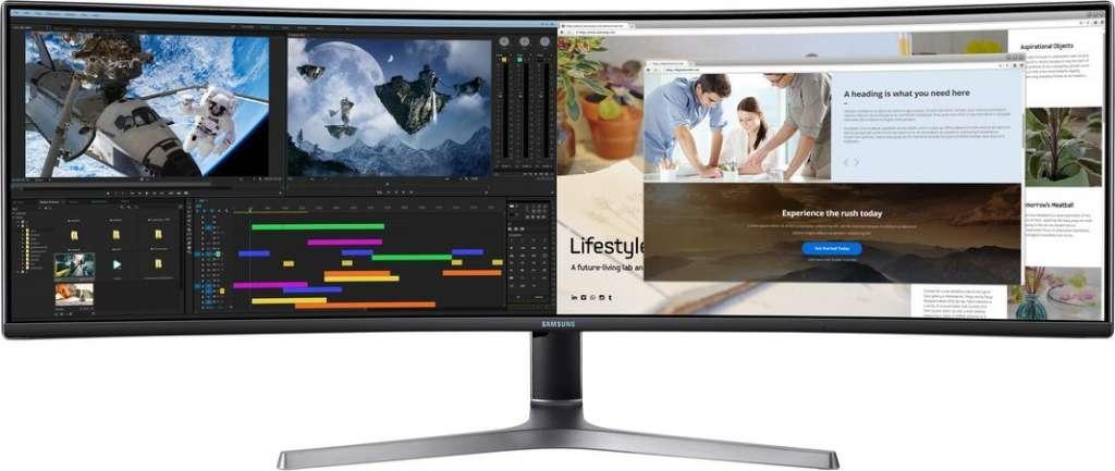 Święty Graal gamingu przeceniony o 1000 złotych! Ultraszeroki, zakrzywiony monitor Samsung QHD 120Hz dostępny w mega promocji - gdzie kupić