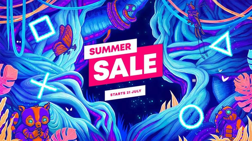 playstation summer sale wyprzedaż gier lipiec 2021 okładka