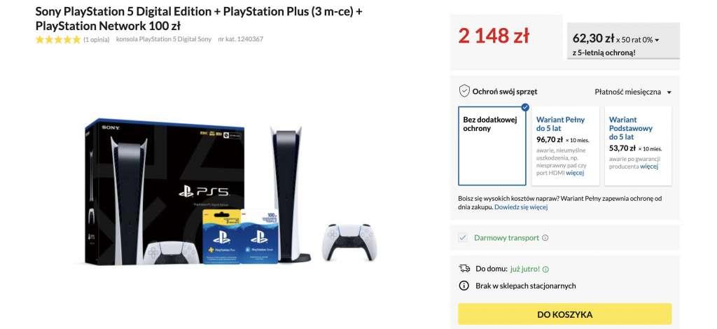 Nowa dostawa PlayStation 5 w polskim sklepie! Gdzie kupić nową konsolę Sony i ile teraz kosztuje?