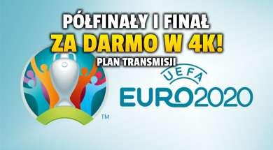 euro 2020 półfinały finał gdzie oglądać tvp 4k okładka