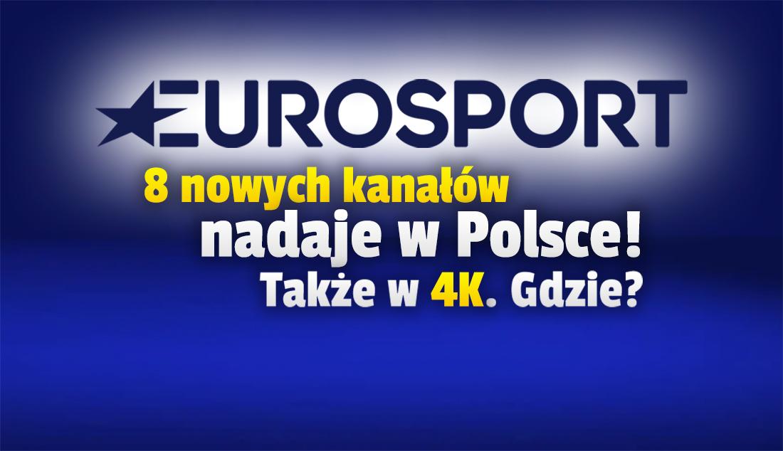 Osiem tymczasowych kanałów Eurosport już nadaje, w tym w 4K! Gdzie je oglądać i co pokazują? Jest program na Igrzyska Olimpijskie w Tokio!