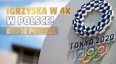 igrzyska olimpijskie tokio 4k polska telewizja eurosport 4k vectra okładka