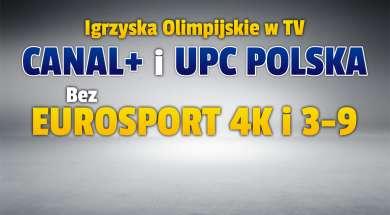 igrzyska olimpijskie w tokio w telewizji canal+ upc polska okładka