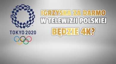 igrzyska tokio w TVP jakość okładka
