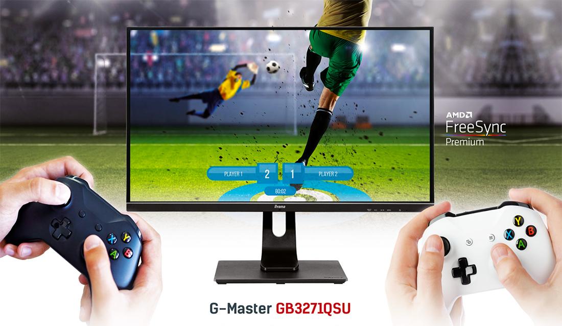 iiyama wprowadza najnowszy monitor Red Eagle WQHD 165 Hz z matrycą 32″! Dedykowany do gier i filmów – kiedy premiera i jaka cena?