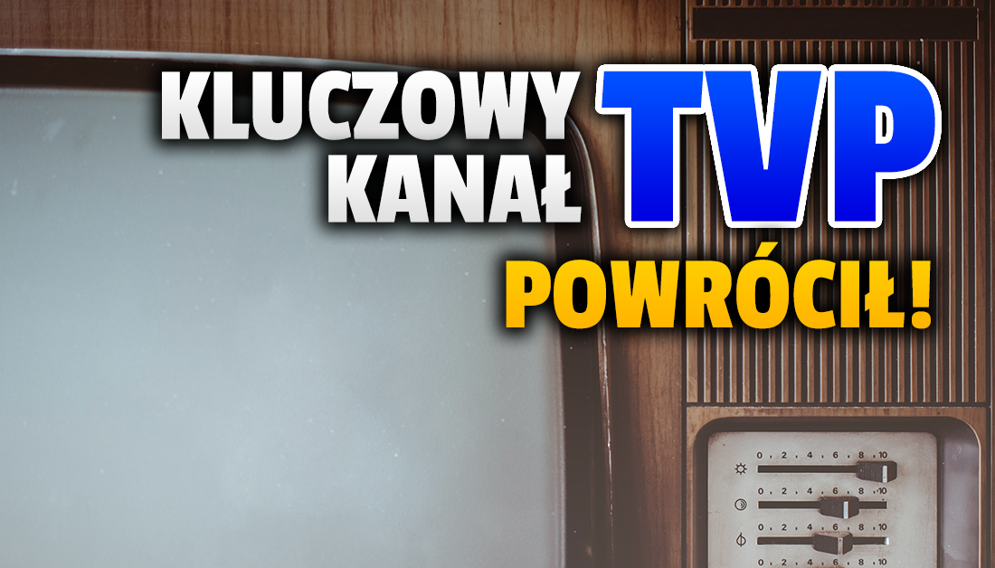 Bardzo ważny kanał TVP po wielu miesiącach znów dostępny dla Polaków! Kto może oglądać i gdzie?