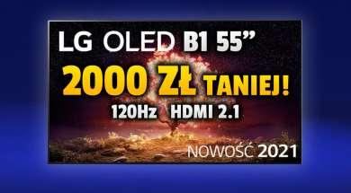 lg oled b1 telewizor 55 cali promocja rtv euro agd lipiec 2021 okładka
