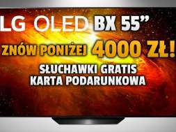 lg oled bx 55 cali promocja słuchawki karta podarunkowa media markt okładka