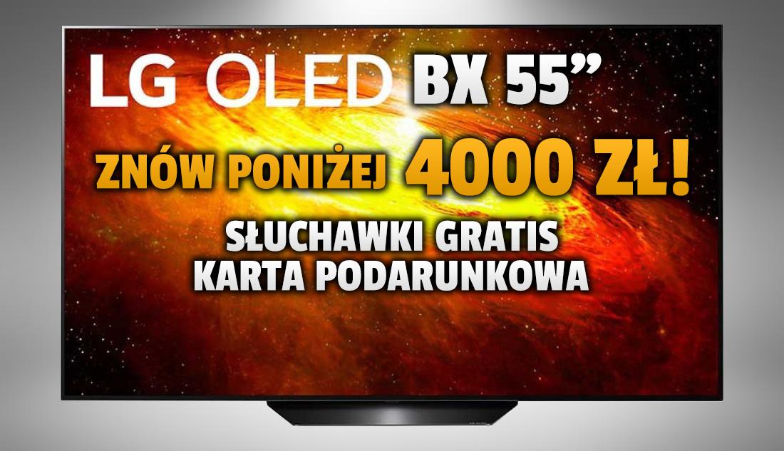 Telewizor LG OLED z HDMI 2.1 w zestawie ze słuchawkami i kartą podarunkową w genialnej promocji poniżej 4000 złotych! Gdzie skorzystać?