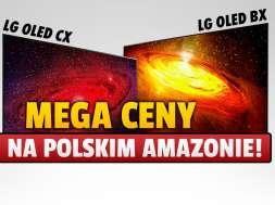 lg oled bx cx 55 cali promocja amazon polska okładka