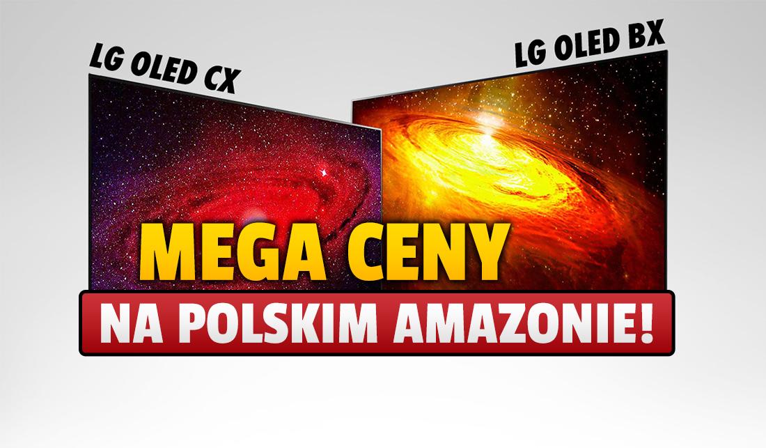 Wielka przecena telewizorów LG OLED z HDMI 2.1 w polskim sklepie Amazon! Znów rekordowe sumy, prawie 4000 zł taniej!