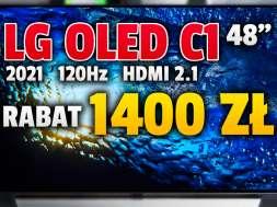 lg oled c1 2021 48 cali telewizor promocja Neonet lipiec 2021 okładka