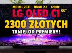 lg oled c1 55 cali telewizor 2021 promocja neonet okładka lipiec
