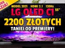 lg oled c1 55 cali telewizor 2021 promocja neonet okładka lipiec 2