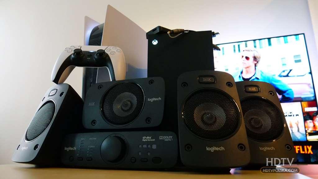 Uniwersalne głośniki 5.1 z wielką mocą i certyfikatem THX do kina domowego i konsoli Test zestawu Z906 (in progress)