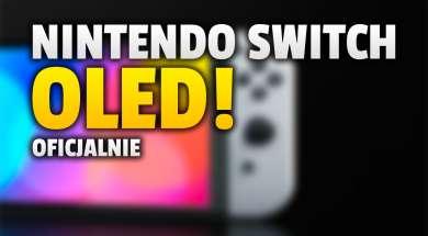 nintendo switch oled konsola premiera okładka