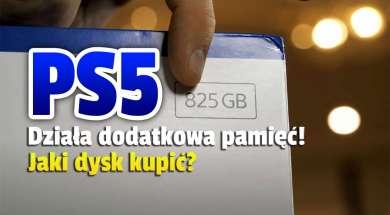 ps5 dodatkowy slot pamięci jaki dysk okładka