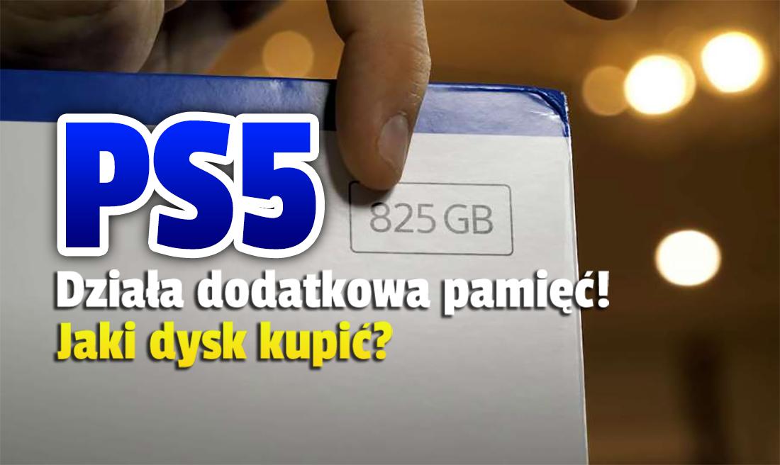 Dodatkowy port na pamięć w PlayStation 5 wreszcie aktywny! Aktualizacja ruszyła – jaki dysk kupić, by działał z konsolą?