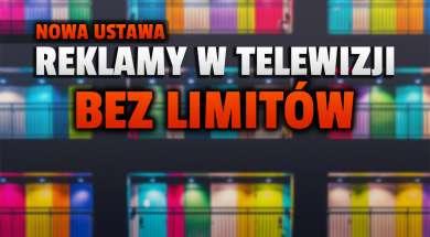 reklamy w telewizji nowa ustawa rządowa okładka