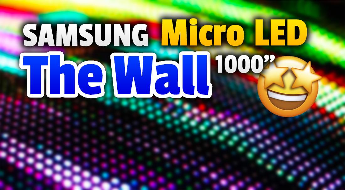 Spadniecie z krzeseł! Samsung pokazał nowy oszałamiający ekran Micro LED The Wall! 1000 cali, rozdzielczość do 16K i odświeżanie 120Hz – tylko spójrzcie