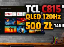 tcl c815 telewizor 4k qled promocja media expert lipiec 2021 okładka