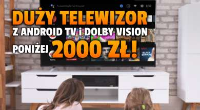 telewizor 4k jvc android tv dolby vision promocja media expert okładka