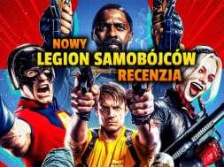 the suicide squad legion samobojcow film 2021 recenzja okładka