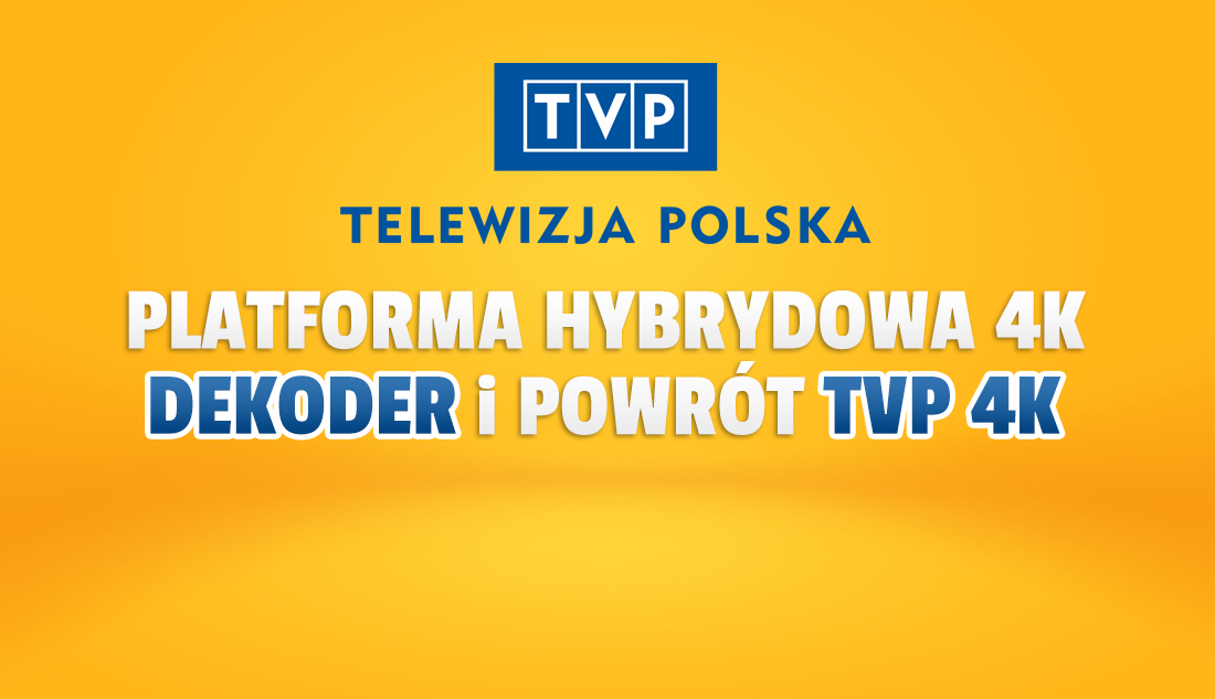 Przełom w TVP staje się faktem! Darmowa platforma naziemno-internetowa nowej generacji oficjalnie! Dekoder, kanał TVP 4K – co zdradził Kurski?