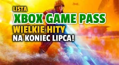 xbox game pass lipiec 2021 druga połowa lista okładka