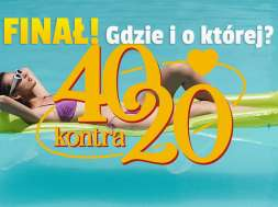 40 kontra 20 tvn7 finał okładka