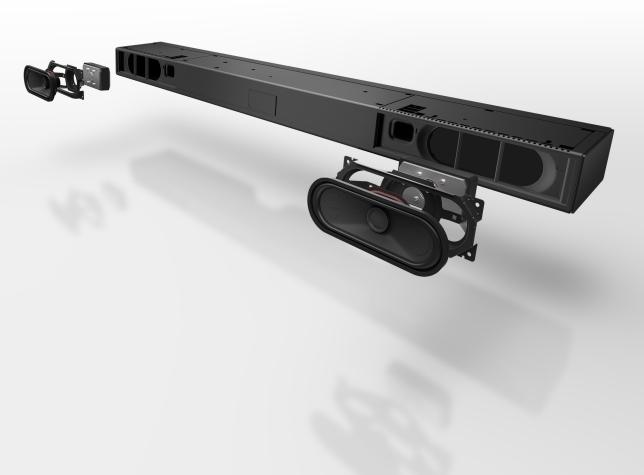Panasonic SC-HTB490 test recenzja soundbar budowa przekrój