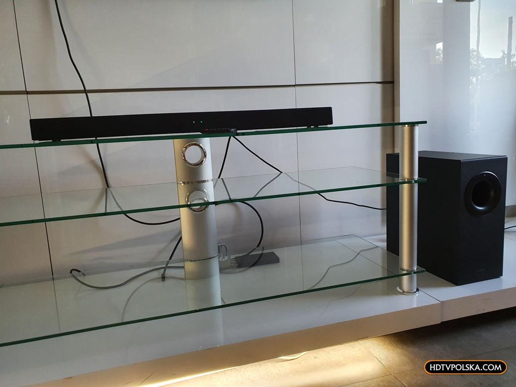 Panasonic SC-HTB490 test recenzja soundbar odsłuch