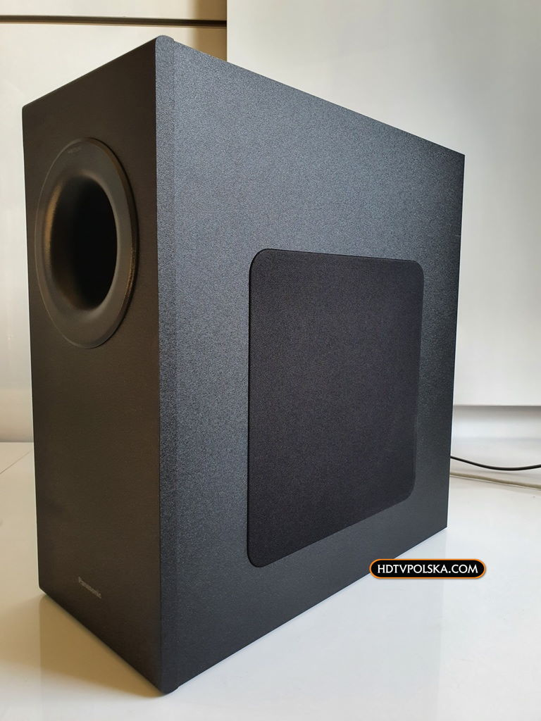 Panasonic SC-HTB490 test recenzja soundbar subwoofer 2