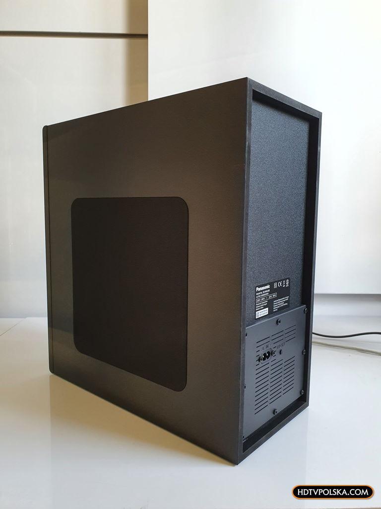 Panasonic SC-HTB490 test recenzja soundbar subwoofer 3
