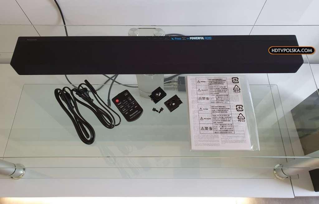 Panasonic SC-HTB490 test recenzja soundbar zestaw