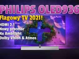 Philips OLED936 telewizor 2021 lifestyle okładka