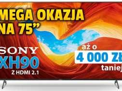 Promocja-Sony-XH90-HDMI-2.1-PS5-PlayStation-5 media expert sierpień 2021 okładka