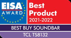 TCL TS8132 nagroda eisa best buy najlepszy zakup
